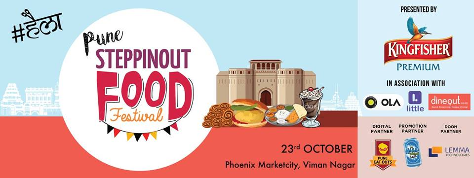 SteppinOut Food Festival - Pune 2016