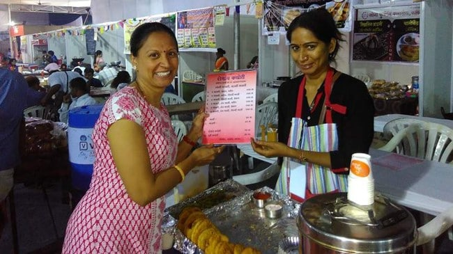 bhimthadi jatra pune food stalls by women