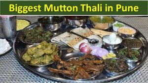 Biggest Mutton Thali in Pune