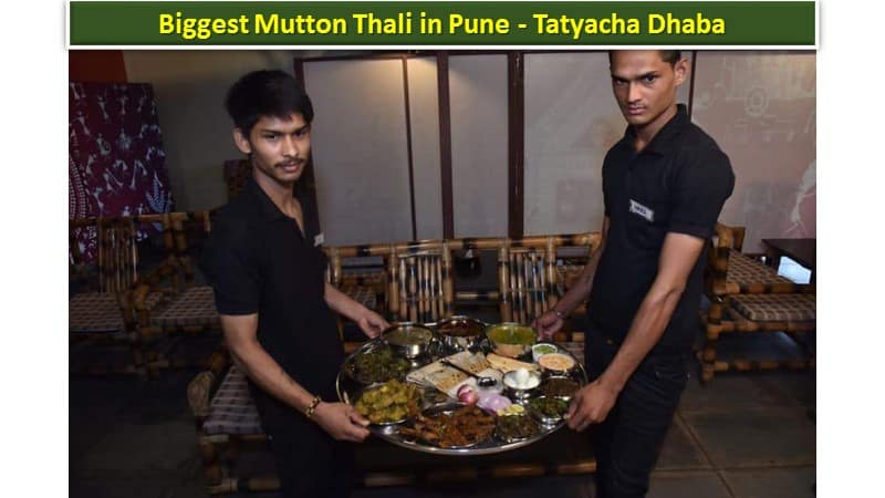 Biggest Mutton Thali in Pune - Tatyacha Dhaba