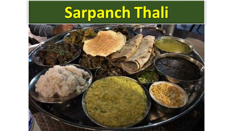Sarpanch Thali Tatyacha Dhaba pune
