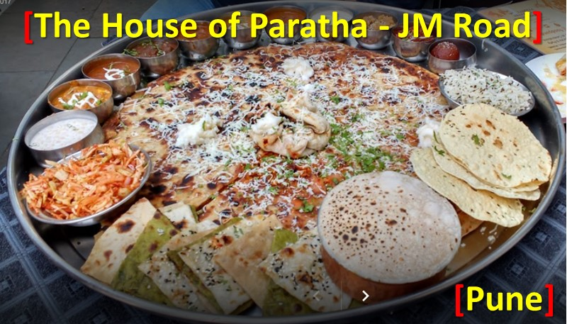 Bahubali Thali Pune The House of Paratha