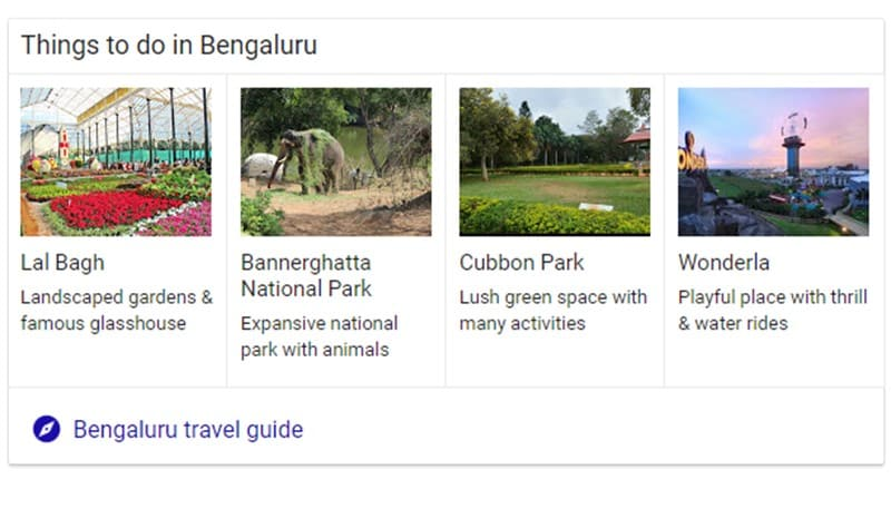 Banglore is famous for multiple things