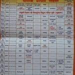 Alandi Pandharpur Palkhi Wari Timetable 2018 [Download]