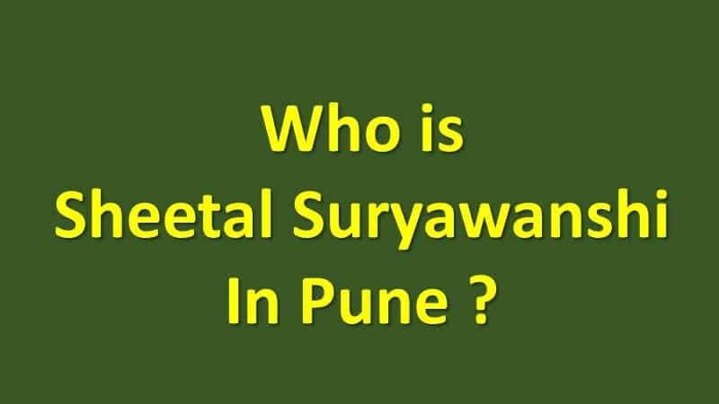 Sheetal Suryawanshi Pune