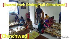 Sitting arrangements Swami Sneh Dining Hall Chinchwad