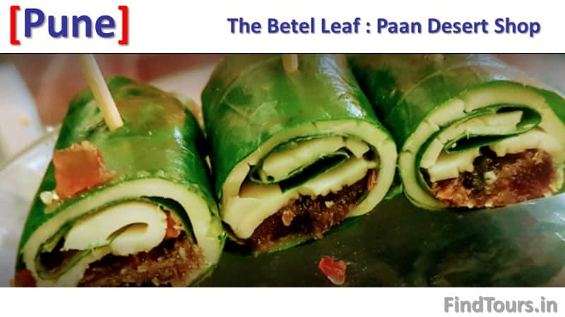 The Betel Leaf Paan Desert Shop Karve Nagar Pune - 400 types