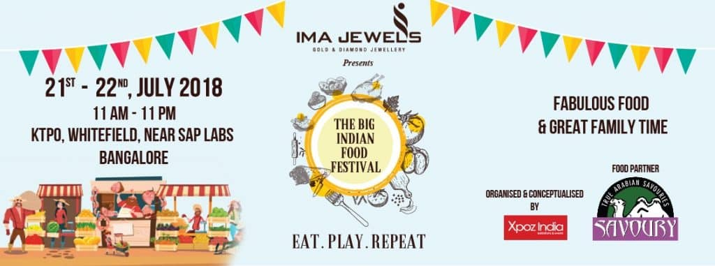 XPOZ India food festival Bangalore