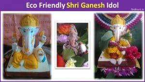 Eco Friendly Shri Ganesh Idol