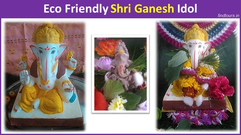 Eco Friendly Shri Ganesh Idol