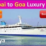 Mumbai to Goa luxury cruise INR 7,000 – Online Booking
