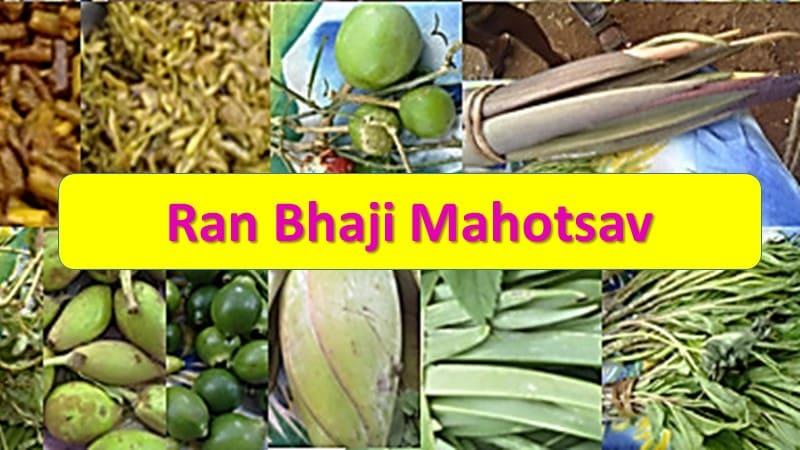 Ran Bhaji Mahotsav Wild vegetables festival